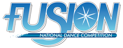 Fusion National Dance Competition Logotype